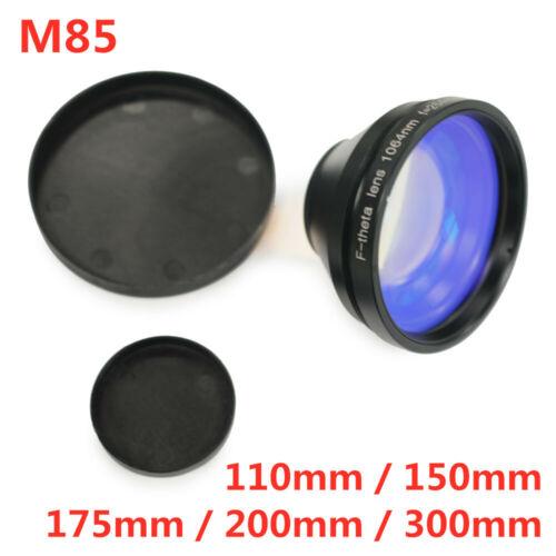 Fiber Laser Machine Scanning Lens 150mm / 200mm / 300mm Area F Theta Lens M85
