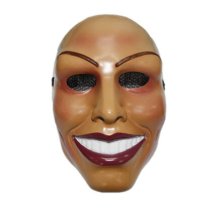 Purge-maske Halloween (The Purge Maske Grin Halloween Film Horror (Weiblich Design) Lächelnd Damen)