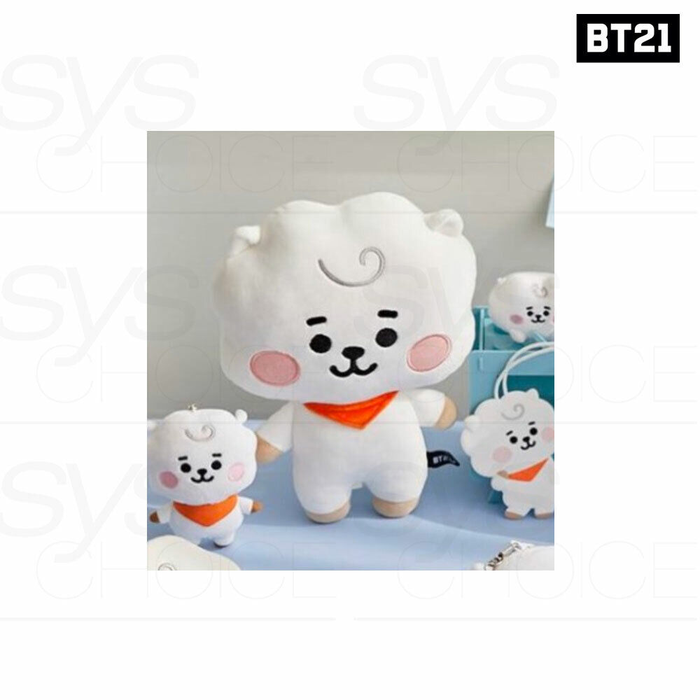 Tracking # BTS BT21 Official Authentic Goods Mini Body Cushion Baby Ver