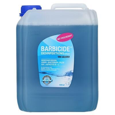 (6,79€/L) Barbicide Desinfektionsspray für Oberflächen 5L Desinfektionsmittel