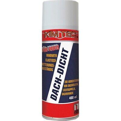 Kim-Tec 400ml (14,88€/Liter) Dach Dicht Spray schwarz Dachrinne abdichten Blech ()
