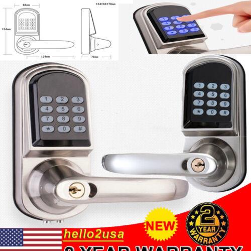 Electronic Digital Door Lock Keyless Smart Keypad Security E