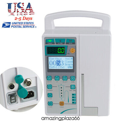 Us Infusion Pump Iv Fluid Pump Equipment And Audible And Visual Alarm Warranty