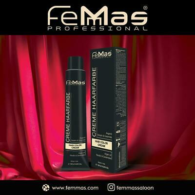 FemMas Hair Color Cream 100ml Haarfarbe