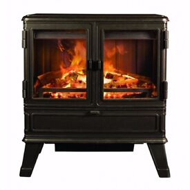 A opportunity to own a fantastic fire centre piece. See Dimplex Cadogen on Google