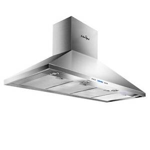 Commercial Rangehood Stainless Kitchen Canopy BBQ Exhaust Fan R Sydney City Inner Sydney Preview