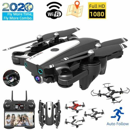 FPV Drohne mit 4K HD WIFi Kamera 2.4G RC Mini Selfie Quadcopter GPS Drone Neu DE