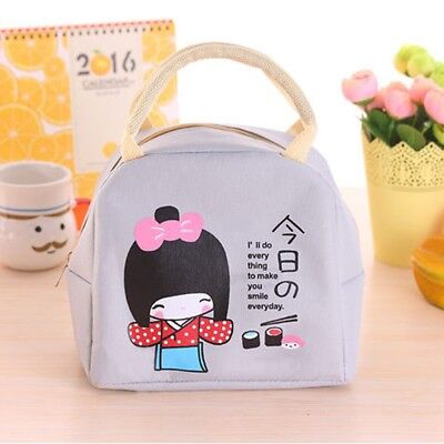 Girl Insulation Japanese Bento Large Lunch Boxes Thickening Food Bag Lunch Bag