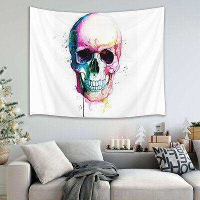 Halloween Sugar Skull Tapestry Wall Hanging for Living Room Bedroom Dorm Decor
