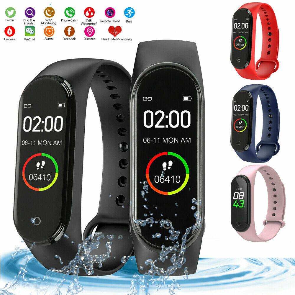 Bluetooth Smartwatch Fitness Armband Fitness Tracker Sportuhr Wasserdicht Uhr