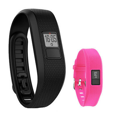 Купить Garmin - Garmin Vivofit 3 Activity Tracker Fitness Band w/ Replacement Band (Rose)