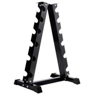 AUS FREE DEL-Heavy Duty Vertical Dumbbell Storage Rack 6 Pairs