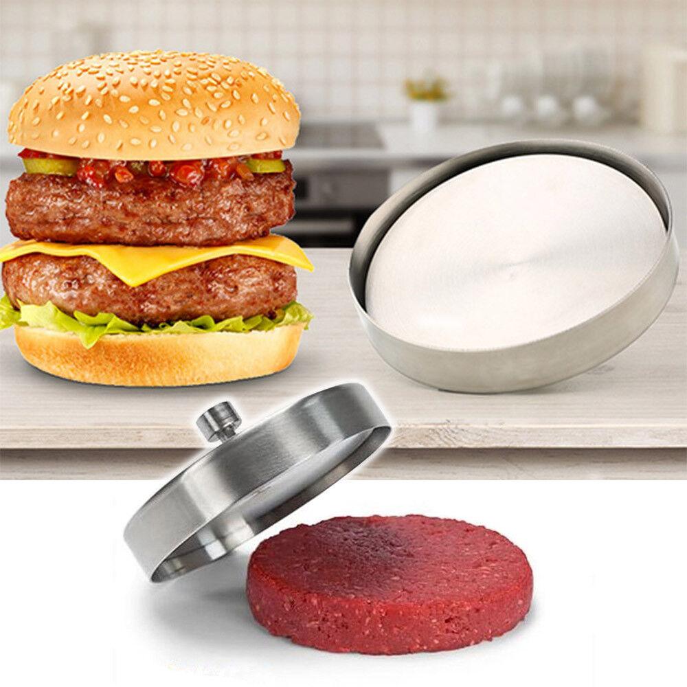 Burgerpresse Grill Maker Pattypresse Aluminum Hamburgerpress Form Küche  Presse