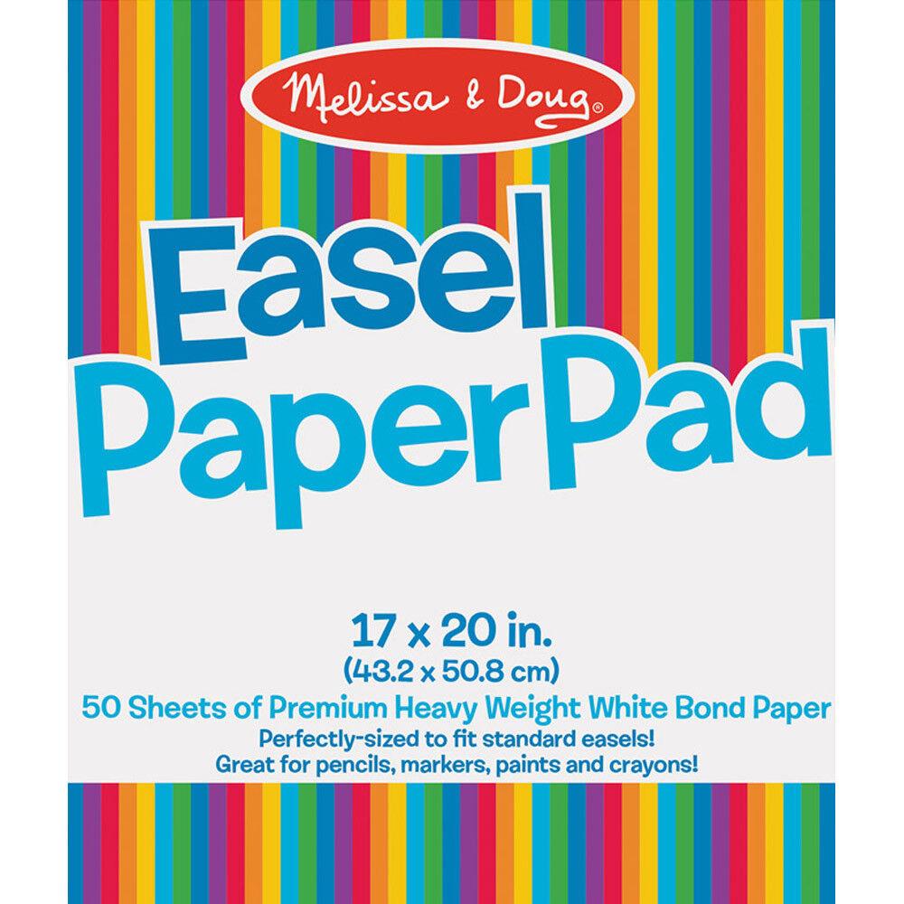 Melissa and Doug Easel Paper Pad - Kids Art Essentials