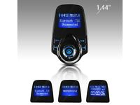 high quality Bluetooth in-car transmitter adaptor and charger handsfree calls! Sd card,aux