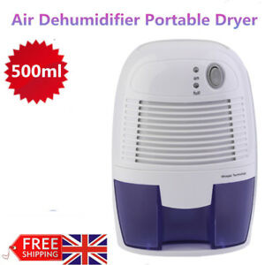 Electric Dehumidifier Air Dryer Moisture Damp Mould Drying Home Room Drying New