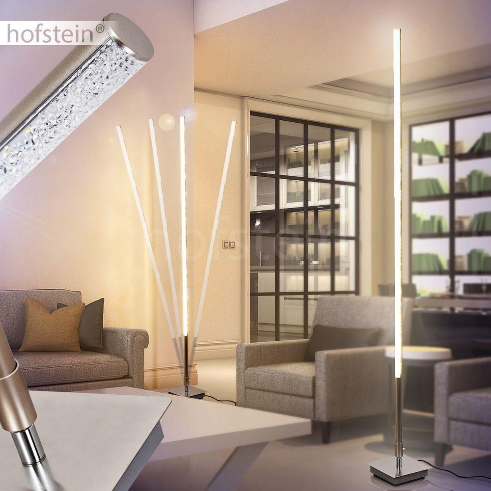 Design LED Loft Beleuchtung Stand Boden Steh Lampen Wohn Schlaf Zimmer Leuchten