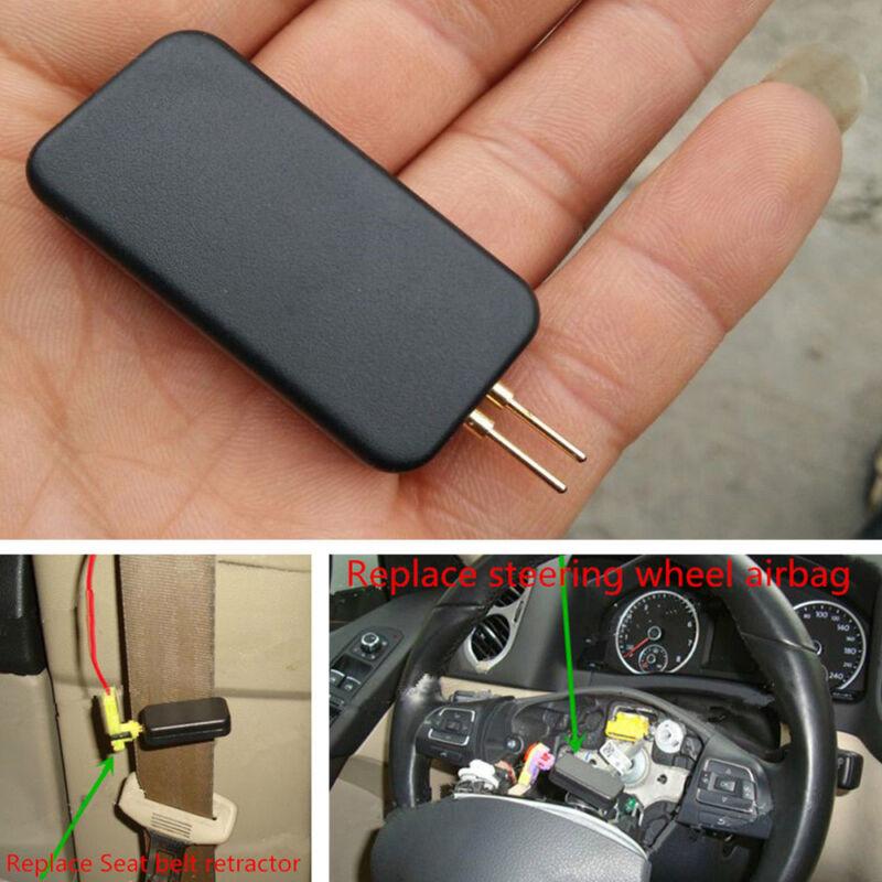 Black Car Vehicles Mini Air Bag Simulator Bypass Garage SRS Fault Diagnostic Kit
