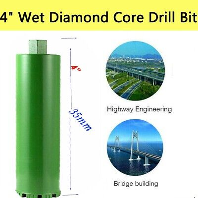 M22 4 Wet Diamond Core Drill Bit Brick Block Reinforced Concrete Green Us