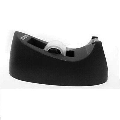 Desktop Tape Dispenser Tabletop Office Size 1 Core Roll Heavy Duty Manual Black