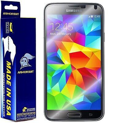 Armorsuit Militaryshield Samsung Galaxy S5 Screen Protector  Case Friendly  New