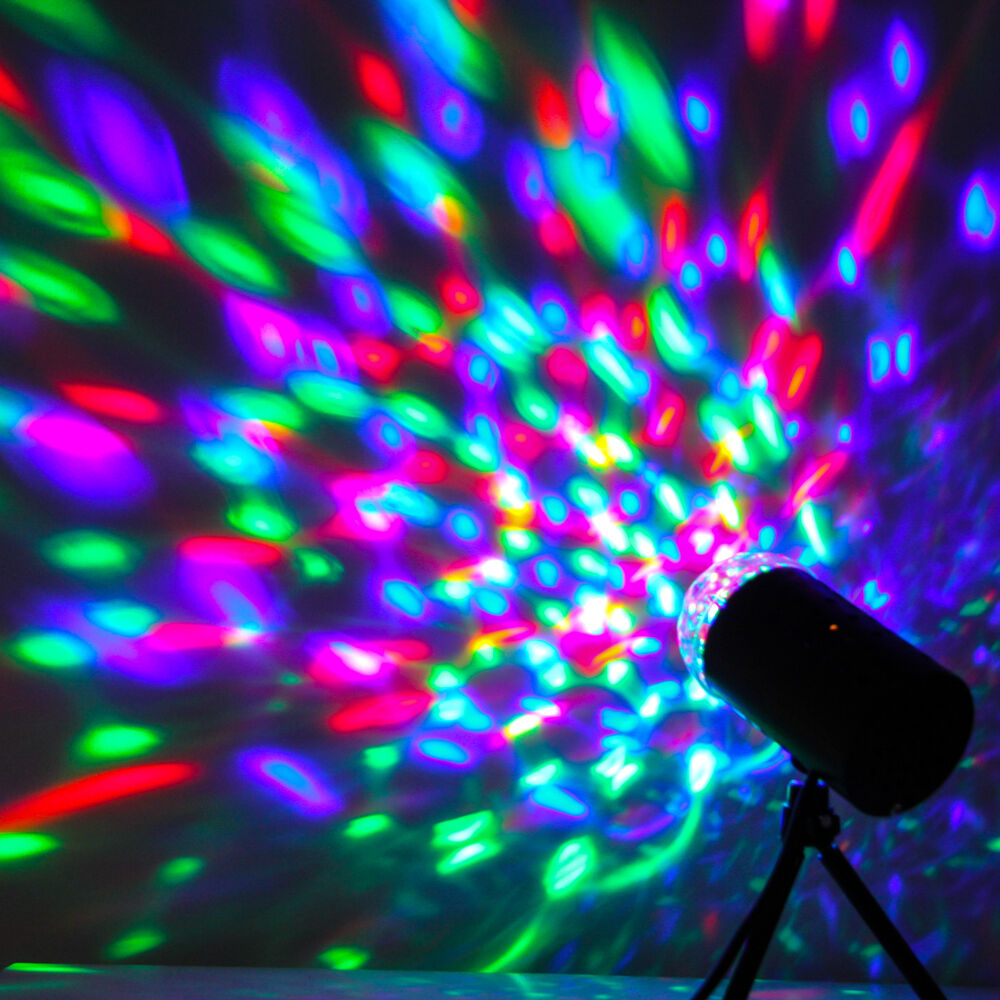 Mini Projector RGB DJ Disco Light Stage Xmas Party Show DJ Disco Laser Lighting