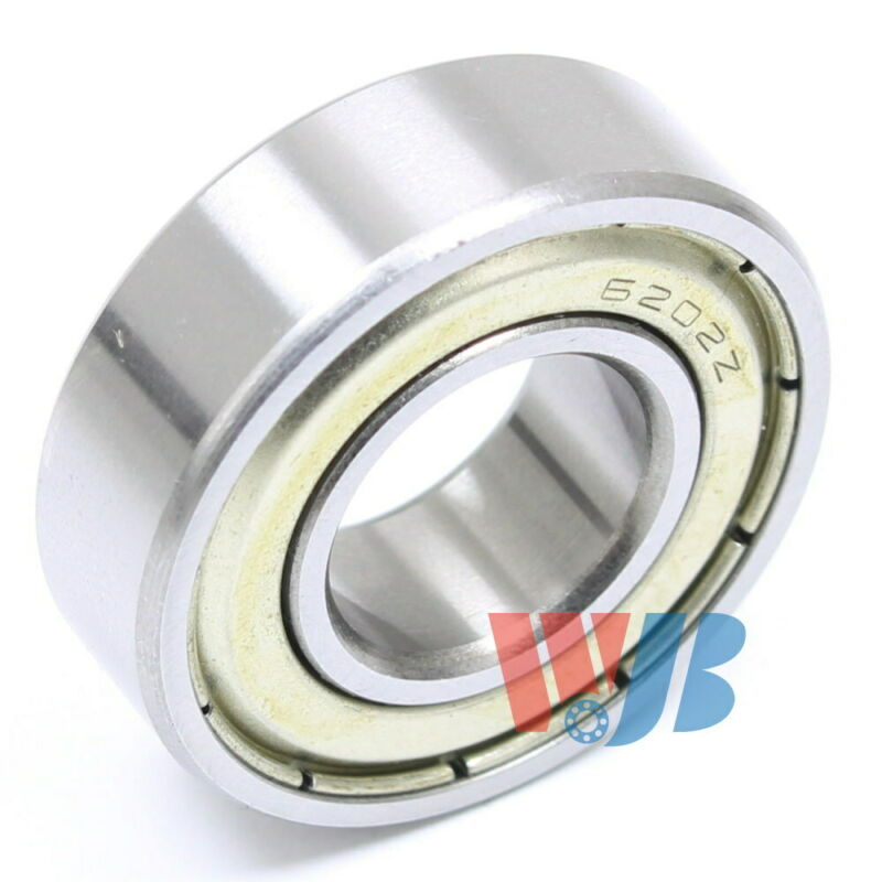 Radial Ball Bearing 6202-ZZ-16mm With 2 Metal Shields & 16mm Bore 16x35x11mm