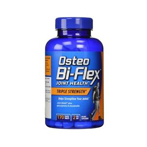 New Sealed Osteo Bi-Flex Triple Strength 170 Caplets Glucosamine Chondroitin MSM