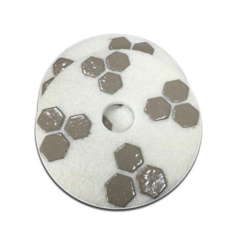 17 Inch Honeycomb Diamond Floor Polishing Pad 1500 Grit