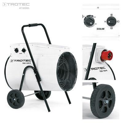 TROTEC TDS 120 R Calefactor eléctrico portátil, Aerotermo, Generador con 30 kW