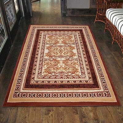 Teppich Klassisch Orientalisch in Braun Ornamente Läufer Klein- 200x300 300x400