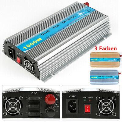 Grid Tie (1000W Solar Inverter Grid Tie DC20V~45V zu AC230V 50-60Hz Wechselrichter MPPT EU)