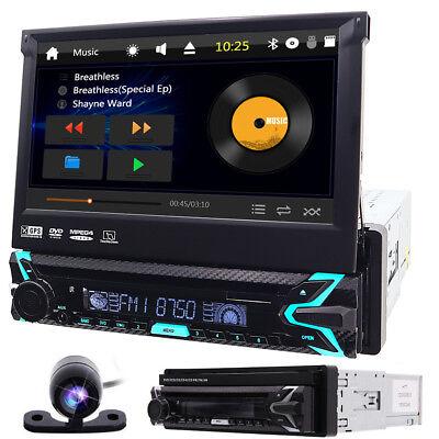 """7""""1 Din Car DVD Player GPS Navi Car Stereo AM FM Radio Bluetooth USB/SD Camera comprar usado  Enviando para Brazil"""