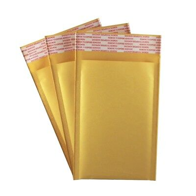 4 X 7 Kraft Bubble Mailers 000 Self Seal Padded Shipping Envelopes - 100 Pack