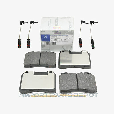 Mercedes Front Brake Pads Pad Set Genuine OE 0050120 + Sensor 14012 VIN#REQUIRED
