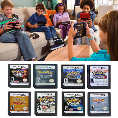 Pokemon Video Game Card For Nintendo DS 3DS NDSI NDS NDSL Lite2 US Version