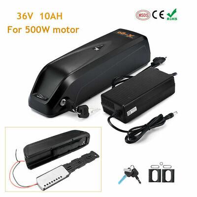 36V 10Ah 500W Downtube Lithium Li-ion Battery 350W E-Bike Electric Bicycle Motor