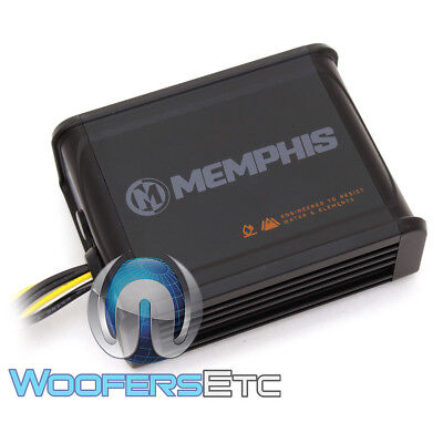 MEMPHIS MXA200.4S 4-CHANNEL 4X50W RMS MARINE BOAT MOTORCYCLE SPEAKERS AMPLIFIER ()
