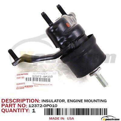 Genuine Toyota Tacoma 05-15 V6 4.0L Front Mount Insulator Engine 12361-31121 OEM
