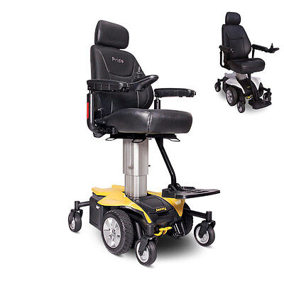JAZZY AIR Powerchair Elevating Seat Height Pride Electric Wheelchair