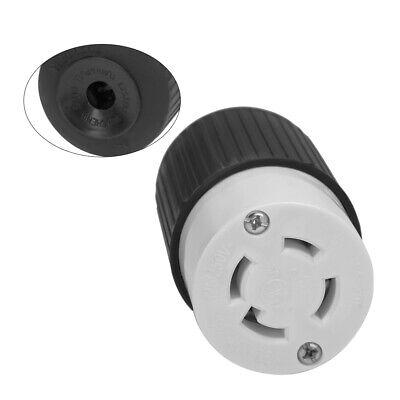 Twist Lock 4 Wire Electrical Plug 30A Female Receptacle NEMA L14-30R.Lock UL