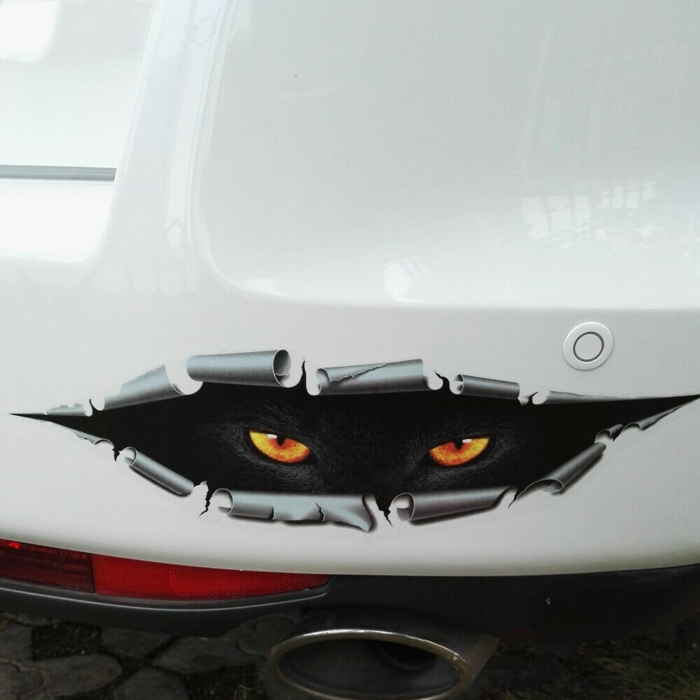 3D PEEKING Funny Car Van Bumper Window Vinyl Sticker Decal Universal Accessories