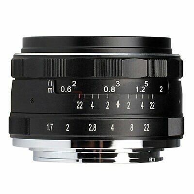 Meike MK-35mm F1.7 Multi Coated Fixed Manual Focus Lens for Canon EOS M1/M2/M3