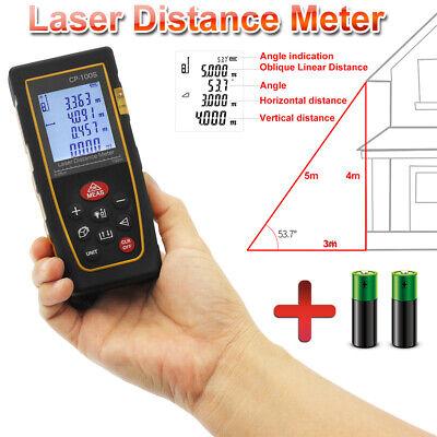 High Accuracy 100m Digital Lcd Display Laser Distance Meter Range Finder Measure