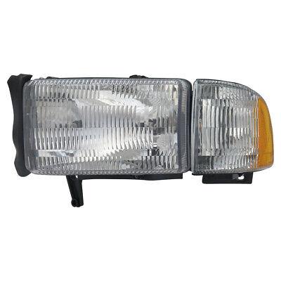 Headlight fits 1994-2002 Dodge Ram 1500,Ram 2500,Ram 3500  TYC
