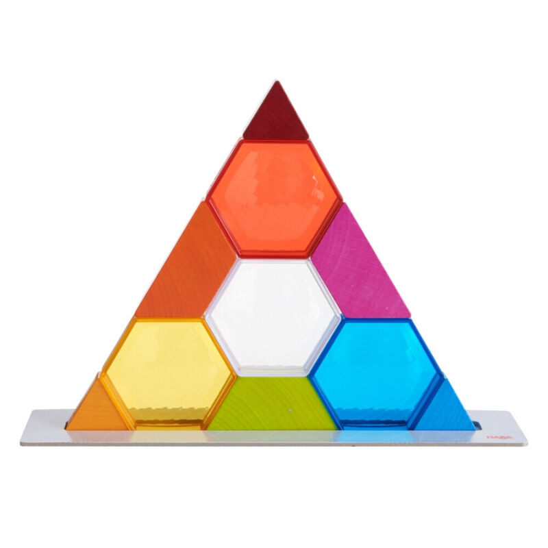 HABA Stacking Game Color Crystals Arranging Game (Made in Germany)
