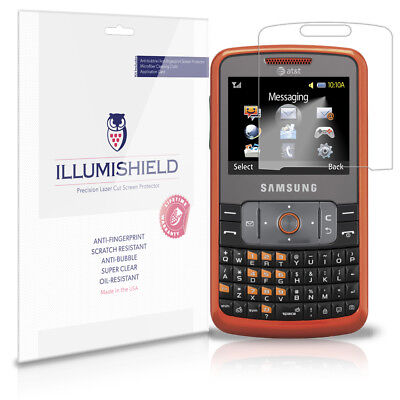 iLLumiShield Anti-Bubble/Print Screen Protector 3x for Samsung Magnet A257 Samsung A257 Magnet