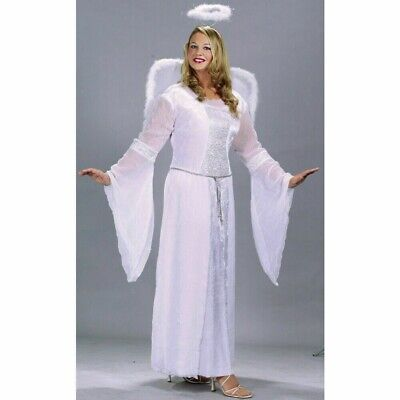 Women's HEAVENLY ANGEL Velvet Collection Adult Plus Size Costume for