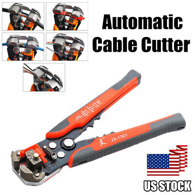 Professional Self-adjusting Wire Stripper Cutter Crimper Cable Stripping Tool Us