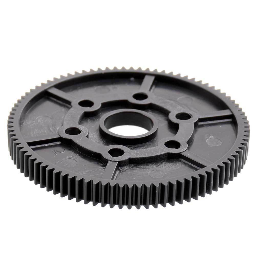 R86028 Plastic Main Gear (87T)  Black Fit RC RGT 1/10TH 4WD Crawler EX 86100